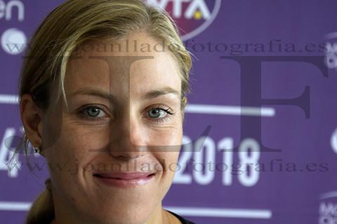 Rueda de prensa de la tenista Angie Kerber