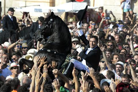Fiestas de Sant Joan en Cuitadella