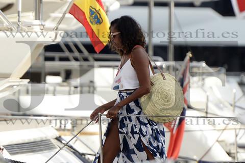 Michelle Obama de vacaciones en Mallorca